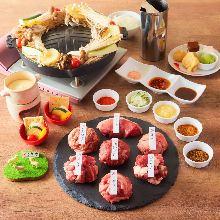 4,730日圓套餐 (16道菜)