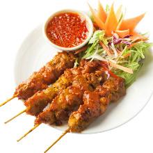 泰式烤雞肉串