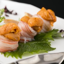 雪蟹(生魚片)