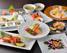 17,582日圓套餐 (8道菜)
