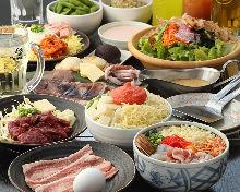 3,500日圓套餐 (9道菜)