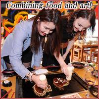 The ultimate Okonomiyaki buffet combining food and art!