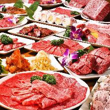 4,980日圓套餐 (80道菜)