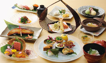10,000日圓套餐 (11道菜)
