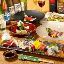 2,980日圓套餐 (8道菜)