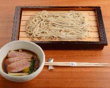 鴨肉籠屜蕎麥麵