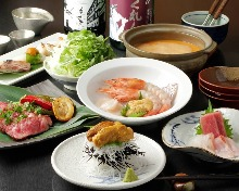 10,800日圓套餐 (9道菜)