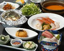 9,504日圓套餐 (7道菜)