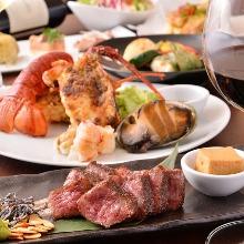 11,440日圓套餐 (10道菜)