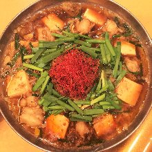 香辣牛內臟火鍋