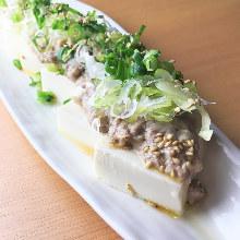 鯖魚佐冷豆腐