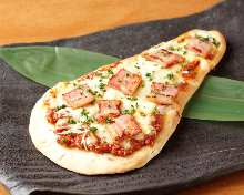 印度烤餅披薩