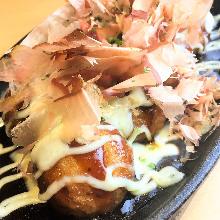 烤起司章魚