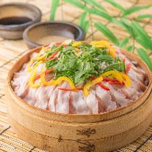 籠屜蒸豬肉