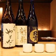 Daiginjo tasting 3 kinds
