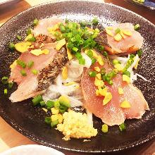 炙烤鰹魚生魚片