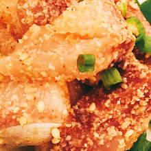 芝麻拌鰤魚