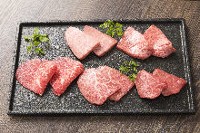 和牛精瘦肉拼盤