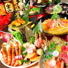 3,498日圓套餐 (9道菜)