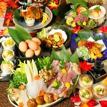 4,998日圓套餐 (10道菜)