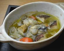 西班牙蒜香燉牡蠣蘑菇