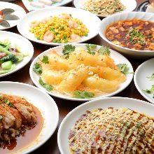 3,058日圓套餐 (122道菜)