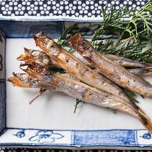 日本鯷魚乾