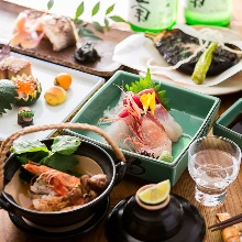 11,000日圓套餐 (10道菜)