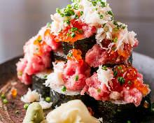 海鮮滿溢壽司