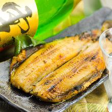烤北方遠東多線魚