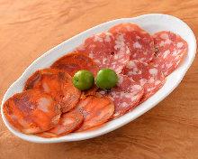 義大利香腸拼盤