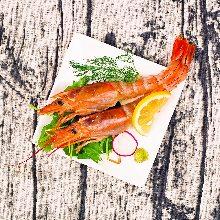 鮮蝦(生魚片)