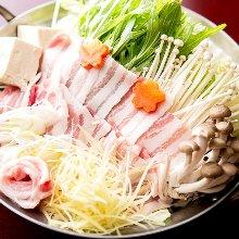 豬肉生薑鍋