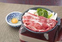 牛肉壽喜燒