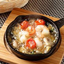 西班牙蒜香蝦仁蘑菇