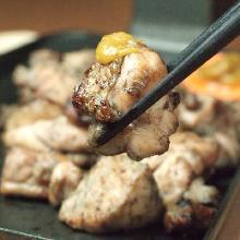 炭火烤土雞腿肉