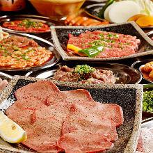 5,500日圓套餐 (18道菜)
