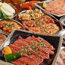4,500日圓套餐 (15道菜)