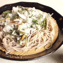 山菜蕎麥麵