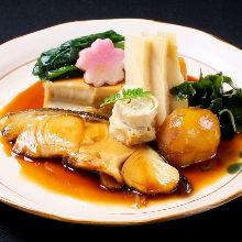 海鮮蔬菜雙拼