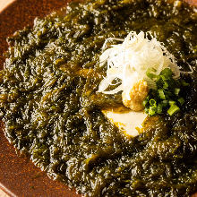 青海苔豆腐
