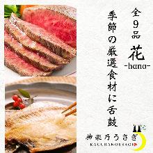 4,580日圓套餐 (9道菜)