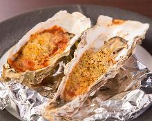 烤起司牡蠣