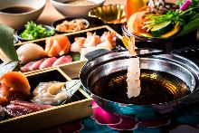 3,500日圓套餐 (62道菜)