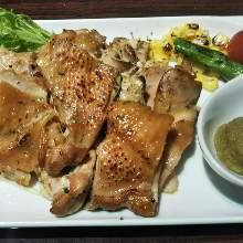 黑胡椒烤雞肉