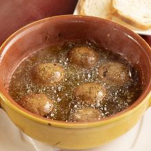 西班牙蒜香蘑菇