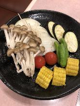 毎日更换烤蔬菜拼盤