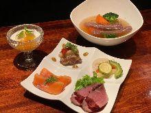 2,500日圓套餐 (3道菜)