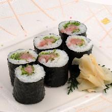 蔥鮪魚腹捲壽司