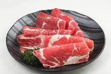 三種牛肉拼盤